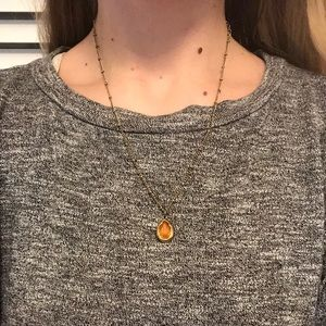 Jewelry - 🆕 Pear Shape Necklace🧡